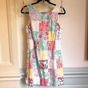 Lilly Pulitzer Delia Patchwork Shift Dress